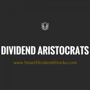Dividend Aristocrats Banner