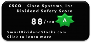 csco dividend safety score