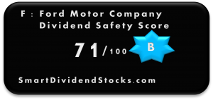 F dividend safety score